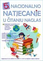 5. nacionalno Natjecanje u čitanju naglas