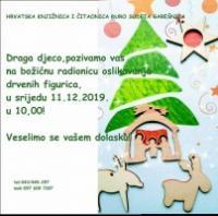 Božićna radionica za djecu